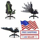 High Back Racing Style Gaming Chair Recliner Swivel Adjustable Comfortable Home