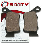 Rear Ceramic Brake Pads 2004 ATK 700 Intimidator Set Full Kit 2T Complete qe