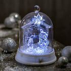 Nativity Dome Tabletop Decoration With Music Home Decor 1 Piece