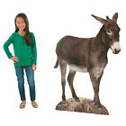 Donkey Nativity Cardboard Stand Up Party Decor 1 Piece