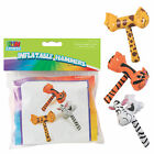 14 Inflate Zoo Animal Hammers 12 Pieces