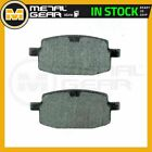Organic Brake Pads Front L for AZEL Diamond Back 50  2009 2010