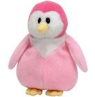 New! Ty Beanie Babies Baby Glacier The Pink Penguin 6