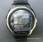 CASIO Wave Ceptor WV-58A (3054) Illuminator World Time 43mm case - New Battery