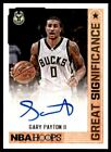 Gary Payton Rookie Cards and Autographed Memorabilia Guide 20