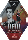 2017 18 Panini Ascension New Frontiers Die Cuts 20 Zach Collins