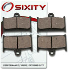 Front Organic Brake Pads 1994-1995 Suzuki RF900 Set Full Kit RR RS RS2 dq