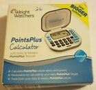 WW Weight Watchers PointsPlus Calculator with Daily Weekly Tracker Complete