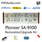 Pioneer SA- 9100 rebuild restoration recap service kit fix repair capacitor