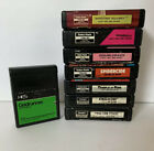 Tandy TRS-80 - Radio Shack Color Computer (8) Cartridge Game Lot-1983