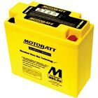 Motobatt Battery For Gilera V NGR Kick-Start 250cc