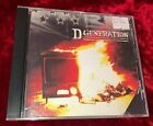 RARE 1994 D Generation S/T ADVANCE PROMO CD PUNK GLAM HARDCORE KBD