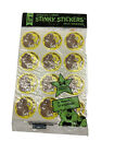 Vintage Trend Scratch and Sniff Stinky Stickers Unopened Peanut And Spearmint
