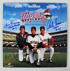Charlie Sheen Signed Laser Disc w 2 Others Major League 2 – COA PSA DNA