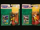 Starting lineup New 1994 Edition Rod Woodson No.68489, Barry Foster No.68487