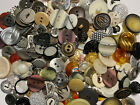 BEST MIX ON EBAY 100 pc MIXED LOT of OLD VINTAGE  NEW Buttons ALL TYPES  SIZES