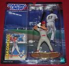 TEXAS RANGERS JUAN GONZALEZ MLB STARTING LINEUP 1999 EDITION