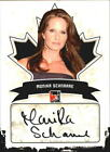 2011 In The Game Canadiana Autographs #AMS2 Monika Schnarre