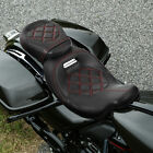 Driver Passenger Seat Set Fit For Harley Touring Road King Glide CVO 2009 2020
