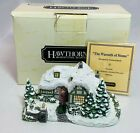 Hawthorne Village Thomas Kinkade Sculpture The Warmth Home Vintage COA 78874
