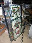 500 + piece wholesale lot of Dale Tiffany stained glass Windows panels lamps etc