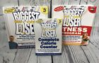 The Biggest Loser Lot of 3 Books Weight Loss Program Fitness Calorie Counter