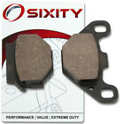 Rear Ceramic Brake Pads 2000-2003 Kawasaki KL250 Super Sherpa Set Full Kit ld