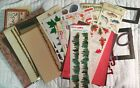 Scrapbooking Lot Fishing Autumn paper lettering stickers frames more Lot C