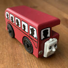 Thomas Train Wooden Railway Friends Bertie Bus + Silhouette People 1999 Vintage