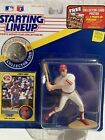 1991  CHRIS SABO Starting Lineup Sports Figurine CINCINNATI REDS Card And Coin