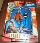 Dr Who 10th Tenth Doctor in Spacesuit Figure Sealed Series 2 Smashed Helmet