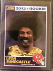 2013 Panini Score Leon Sandcastle Rc Purple SP
