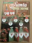 Easy Plastic Canvas Santa home Decor Christmas Patterns