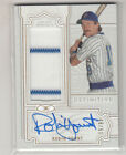 2020 TOPPS DEFINITIVE COLLECTION ROBIN YOUNT AUTOGRAPH RELIC CARD 46 50