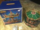 LEMAX Holiday Village JUNGLE ANIMAL CAROUSEL -sights & sounds Animated