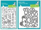 Lawn Fawn BICYCLE BUILT FOR YOU Clear Stamps  Lawn Cuts Die Set LF1323 LF1324