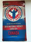 2015 Upper Deck National Hockey Card Day in Canada Packs