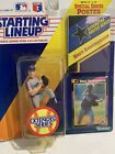 1992 STARTING LINEUP MLB BRET SABERHAGEN NEW YORK METS EXTENDED With Poster