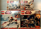 Lego Star Wars 4 Lot Set 8083 8084 8085 8086 New  Seal Retired Damaged Boxes