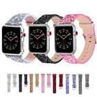 Smart Watch Bracelet Flash Powder Strap For Apple Watch Series 5 4 3 2 1