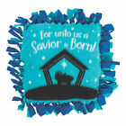 Nativity Silhouette Fleece Tied Pillow Craft Kit Craft Kits 6 Pieces