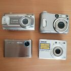 Digital Camera Bundle Spares repairs Sony Cybershot Samsung NV4 Canon PowerShot