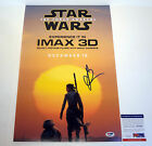 JJ Abrams Star Wars The Force Awakens Signed Autograph Movie Poster PSA DNA COA