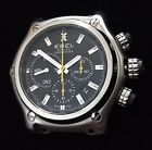EBEL 1911 BTR Chronograph Watch E9137L72 *NO BAND / NEEDS CROWN* PRICED TO SELL!