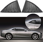 For Camaro Quarter Window Louvers 2010 2015 Chevy Side Cover Scoops Sun Shade