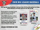 2020 Topps Big League Baseball Hobby Box
