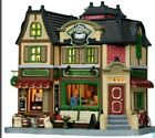 Lemax Caddington Village Brew Browse Coffee and Book holiday Christmas village