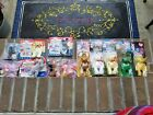 14 Beanie Babies Lot Libearty Lefty Righty Britannia Maple Erin Glory Chip Strut