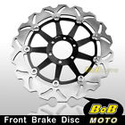 For Moto Guzzi NORGE T-GTL ABS120006-09 Stainless Steel Front Brake Disc Rotor