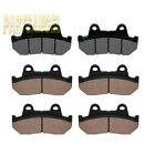 Front Rear Brake Pads For Honda GL1100 GL1100A GL1100I Gold Wing 1100 82-83